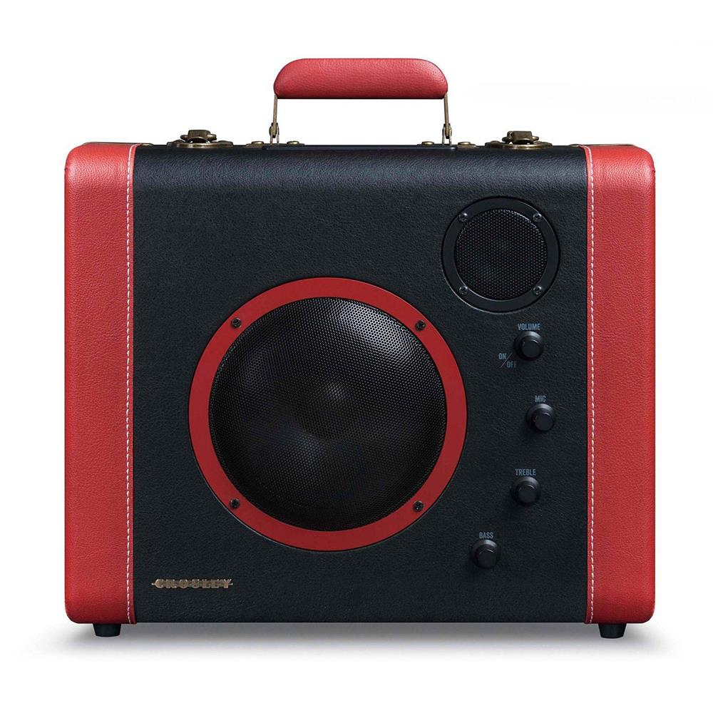 SOUNDBOMB PORTABLE BLUETOOTH SPEAKER, BLACK/RED